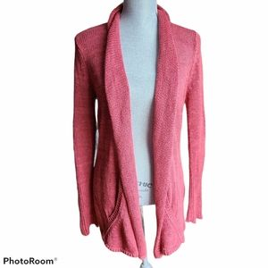 Angel of the North Linen Cardigan Size small